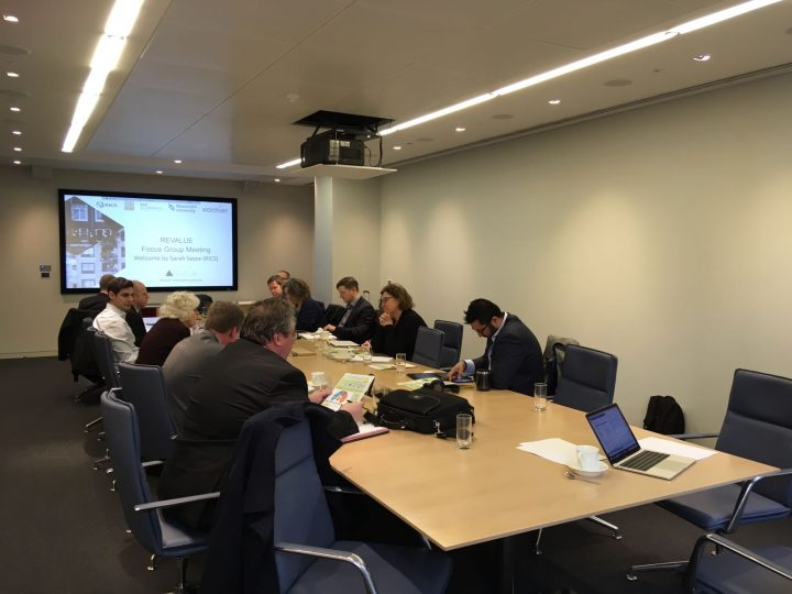 REVALUE partners present two years of research during round table meeting at SAVILLS