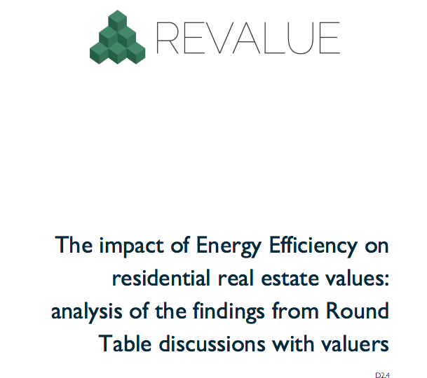 Energy efficiency still not a top agenda item for lenders or buyers in the residential markets but it is changing