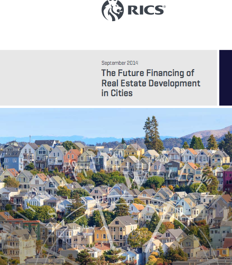 Future financing of real estate development in cities